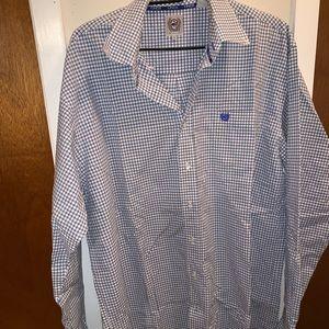 men's cinch shirt.